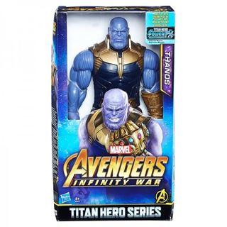 Immagine di Avengers Infinity War Personaggio Snodabile Thanos Titan Hero Power Fx Con Suoni