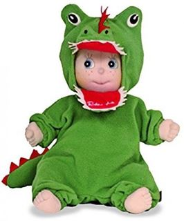 Immagine di Rubens Barn 90037 36 Cm Ark Soft Doll With Crocodile Outfit