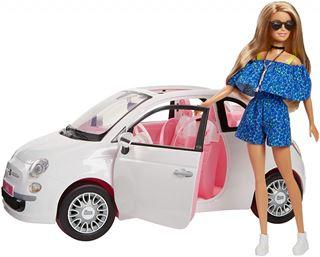 Immagine di Barbie Fiat 500 Fvr07