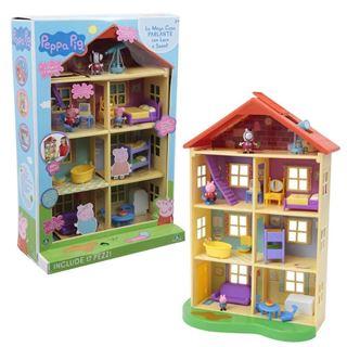 Immagine di Peppa Pig Mega Casa Con 3 Personaggi