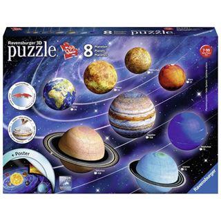 Immagine di Puzzle 3 D Il Sistema Planetario