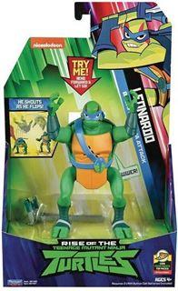 Immagine di Turtles Rise Of The Teenage Mutant Ninja Turtles Deluxe Figure C/suoni