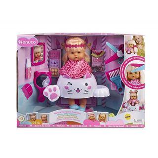 Immagine di Bambola Educativa Nenuco Parrucchiera Glitter Famosa