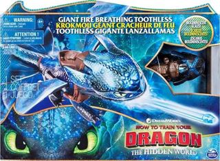 Immagine di Dreamworks Dragons The Hidden-gigante Fuoco World-toothless-nuovo Breathing