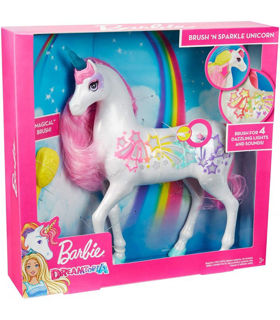 Immagine di Barbie Dreamtopia - Unicorno Pettina E Brilla