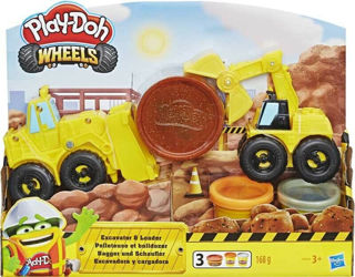 Immagine di Playdoh Wheels Escavatore E4294eu4