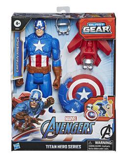 Immagine di Avn Titan Hero Blast Gear Personaggio 30 Cm Capt.america