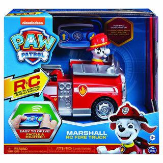 Immagine di Paw Patrol Rc Fire Truck, Radiocomando Di Marshall,