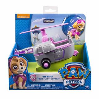 Immagine di Paw Patrol- Skye E Il Suo Veicolo Elicottero, Multicolore, 6027645