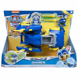 Immagine di Paw Patrol Auto Di Pattuglia Trasformabile Powered Up Di Mighty Pups Super Paws Chase, 6053687