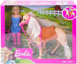 Immagine di Barbie Con Cavallo Fxh13