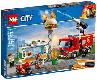 Immagine di Fiamme Al Burger Bar - Lego City Fire (60214)