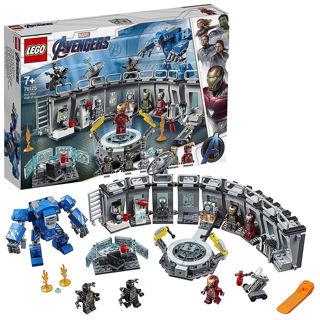 Immagine di Super Heroes Sala Delle Armature Di Iron Man