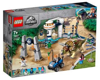 Immagine di L'assalto Del Triceratopo - Lego Jurassic World (75937)
