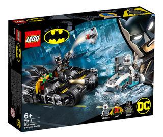 Immagine di Battaglia Sul Bat-ciclo Con Mr. Freeze - Lego Super Heroes (76118)