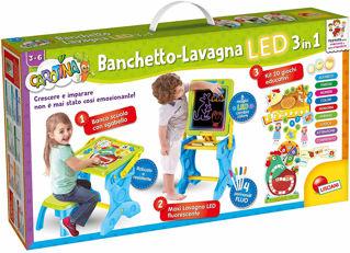 Immagine di Carotina Banchetto Lavagna Led 3 In Uno