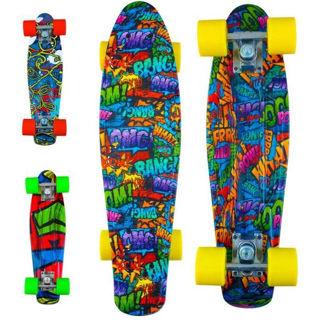 Immagine di Skateboard -kolor- Abec5 5-100 kg.