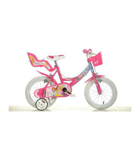 Immagine di Bici 16 Principesse Disney Con Cestino Rosa