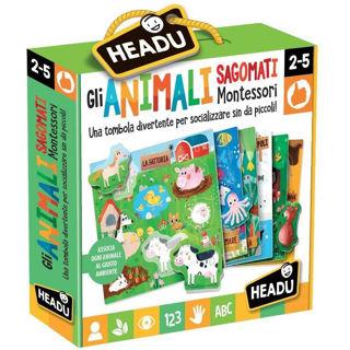 Immagine di Gli Animali Sagomati Montessori