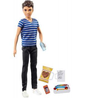 Immagine di Barbie Skipper Babysitters Ragazzo Con Cellulare E Salatini