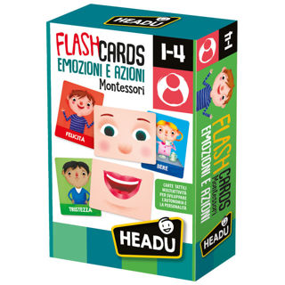 Immagine di Flashcards Montessori Emozioni E Azioni (it23103)