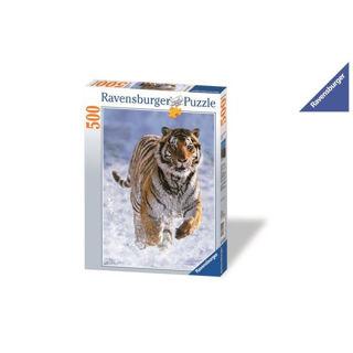 Immagine di Puzzle Tigre Sulla Neve 500 Pezzi