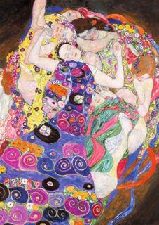 Immagine di Puzzle 1000 Pezzi klimt: La Vergine, Multicolore,