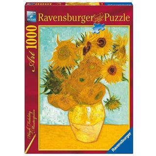 Immagine di Puzzle 1000 Pezzi Van Gogh Vaso Di Girasoli 15805