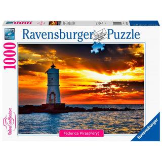 Immagine di Puzzle 1000 Pezzi Faro Di Mangiabarche Isola Di Sant