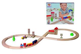Immagine di Ferrovia Di Legno Eichhorn kit Pista A Otto 100001262