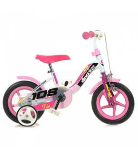 """Immagine di Bicicletta Per Bambina 10"""" 1 Freno 108fl Girl"""