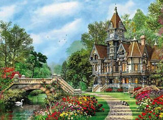 Immagine di Old Waterway Cottage 500 Pezzi High Quality Collection (35048)