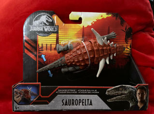 Immagine di Jurassic World Savage Strike Sauropelta Mattel Gjn91