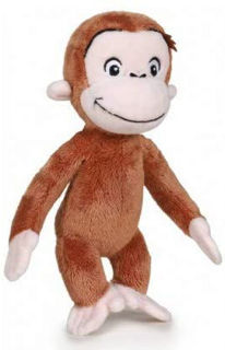 Immagine di Curioso Come George Peluche 18cm Peluches Animali Del Bosco, Foresta, Multicolore,