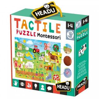 Immagine di Tactile Puzzle Montessori (mu23592)