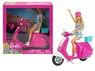 Immagine di Playset Barbie Con Scooter