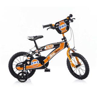 """Immagine di Bicicletta Per Bambino 14"""" Bmx 2 Freni 145xc Dino Bikes"""