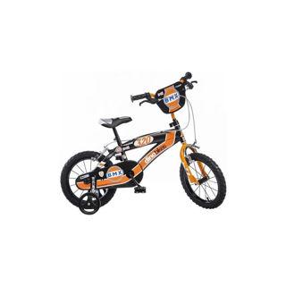 Immagine di Bicicletta Bmx Nero E Arancio Diametro Ruota 16''