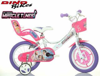 Immagine di Bici 16 Misura 16 Miracle Tunes Bimba Bicicletta