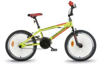 """Immagine di Bicicletta Freestyle Giallo Fluo 20"""""""""""