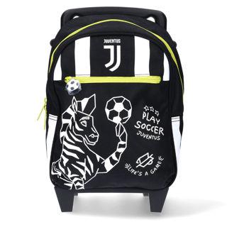 Immagine di Trolley Juventus Ufficiale Scuola 2020/21 Rotelle 13 Litri Seven Future Legacy
