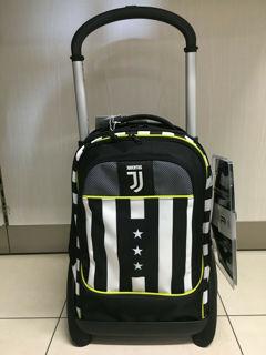 Immagine di Trolley  Juventus Modulare Scuola 2020/21 Seven Winner Forever + Orologio Lowell