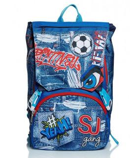 Immagine di Schoolpack Seven Facce Boy Zaino Estensibile + Astuccio 3 Zip Attrezzato Sj Gang