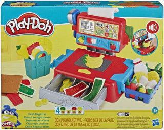 Immagine di Play-doh - Il Registratore Di Cassa (playset Con Suoni Divertenti, Accessori E 4 Colori Di Pasta Da Modellare)