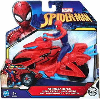 Immagine di Spider-man Con Veicolo Moto