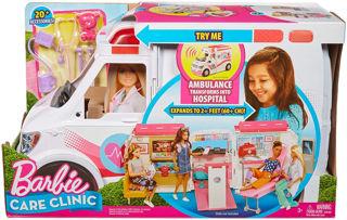Immagine di Barbie Ambulanza, Trasformabile In Clinica