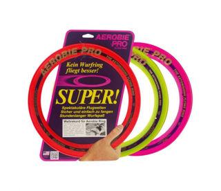 Immagine di Aerobie Pro Ring , Il Disco Volante Del Guinnes World Record , Fino A 400 Metri , Diametro 25 Cm