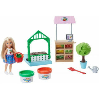 Immagine di Barbie Chelsea Veggie Garden With Dough