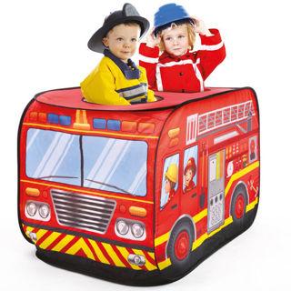 Immagine di Tenda Gioco Camion Dei Pompieri