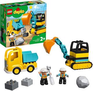 Immagine di Camione E Escavatrice Cingolata
